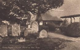 Postcard Stoke Poges Church Porch & Yew Tree My Ref  B13597 - Buckinghamshire