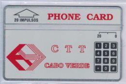 A SAISIR - L&G CTT CABO VERDE - 20 Impulsos Neuve - 304A71511 Envers - Voir Scans - Cap Vert