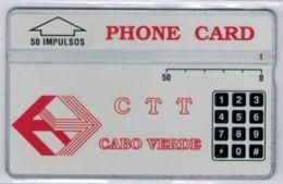 A SAISIR - L&G CTT CABO VERDE - 50 Impulsos - 329A81475 Envers - Voir Scans - Cap Vert