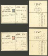 ARGENTINA: GJ.APL- 1/2, Apartado Para Libros, Paquetes Cerrados, Periódicos O Ilustraciones, 1939 Complete Set Of 2 Unus - Interi Postali