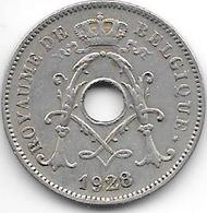 Belguim 10 Centimes 1928 French   Vf+ - 1909-1934: Albert I