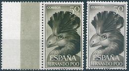 B6179 Spain Colony Fernando Poo Animal Bird ERROR - Cuckoos & Turacos