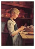 TH-TABLEAUX & PEINTURE ALBERT ANKER-N°C-3580-B/0149 - Peintures & Tableaux