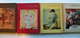 HORIZON, 4 Numéros. Revue Culture-Art, Américaine. 1961-1962. - Culture