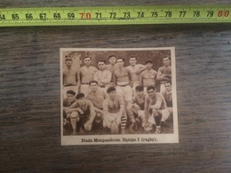1932 1933 M EQUIPE DE RUGBY STADE MONPAZIEROIS MONPAZIER - Collections