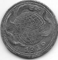 *notgeld Gummerbach 50 Pfennig 1919 Zn     5362.3 / F 180.3b - [ 2] 1871-1918 : Imperio Alemán