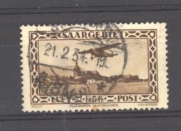 Sarre  -  Avion  :  Yv  4  (o) - Poste Aérienne
