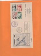 Explorateurs Et Religieux. 1853-1953 Nouvelle-Calédonie. Cartes, Bateaux, Cathedrale,rare, Carte Numérotée; FDC, - Neukaledonien