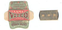Lame De Rasoir Française VITCO - French Safety Razor Blade Wrapper - Lames De Rasoir