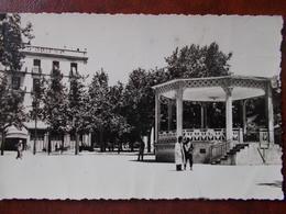 ALGÉRIE - TIARET - Place Carnot. (Kiosque à Musique) CPSM - Tiaret
