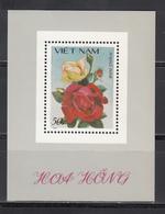 Vietnam, 1987  Yvert Nº HB 39,  MNH, Rosa, - Rosas