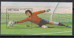 Vietnam, 1986 Yvert Nº HB 28  MNH, Copa Mundial De Fútbol 1986, - Copa Mundial