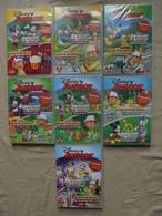 Lot - 7 DVD Disney Junior Magazine La Maison De Mickey/Manny Et Ses Outils - Familiari