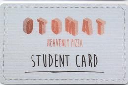 Carte Plastique 10% Discount : Otomat Heavenly Pizza Student Card : Bruges Belgique - Autres