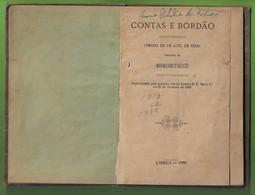 Lisboa - Contas E Bordão - Maximiliano D'Azevedo, 1886 - Teatro - Portugal - Libri, Riviste, Fumetti