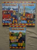 Lot - 3 DVD SAM Le Pompier 1/2/3 HiIT Entertainment 2009 - Enfants & Famille
