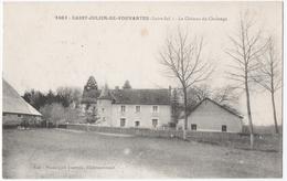 SAINT-JULIEN-de-VOUVANTES (44) LE CHATEAU De CHALONGE. - Saint Julien De Vouvantes