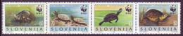 Slovenia 1996 - WWF Protezione Della Natura, Striscia Di 4v MNH** - Slovenia