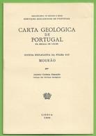 Mourão - Carta Geológica De Portugal. Évora. - Other
