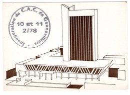 CP 92 - Inauguration De  La Nouvelle Mairie De Gennevilliers 1978 - Gennevilliers