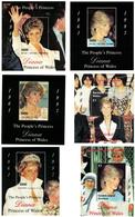 Motifs _ 12 X Diana, Princess Of Wales_ 12 Different Minisheets _ MNH ** - Case Reali
