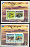 Eastdale Island / Scotland _ WWF - Fauna & Flora _ 2 Minisheet X 2 Perforated Stamps - MNH ** - Blocchi & Foglietti