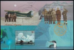 """Bloc De L'Antarctique """"Pujato"""" - Polar Explorers & Famous People"""