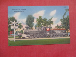 Train Old Wood Burner  Florida > Bradenton   Ref    3580 - Bradenton