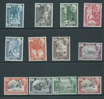 Aden Qu'aiti State Hadhramaut 1955 Pictorials Set 12 MLH - Aden (1854-1963)