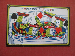 Opening A Jack Pot     Ref    3581 - Cartas