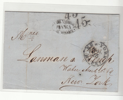 Argentina / Transatlantic Mail / G.B. / U.S. - Argentinien