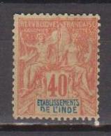 INDE            N°  YVERT  :  10     NEUF AVEC  CHARNIERES      ( 02/33   ) - India (1892-1954)