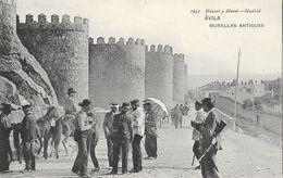 Avila - Murallas Antiguas, Fortifications - Ed. Hauser Y Menet - Carte Non Circulée - Ávila