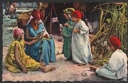 CPSM La Poupée Arabe Femme Et Enfants Edit: Oran ( Très Très Bon état) Ti 591 - Kinderen