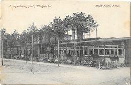 Truppenübungsplatz Königsbrück, Militär Kantine  Tempel - Zone D'entrainement Militaire, Cantine - Koenigsbrueck
