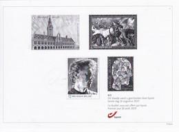 ZWART WIT UIGAVE4/5 -26/08/2019 - Unused Stamps
