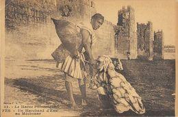 Le Maroc Pittoresque - Fès (Fez): Un Marchand D'eau Au Méchouar - Edition F.L. Carte N° 32 Non Circulée - Fez