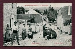 """VILLIERS-SUR-SUIZE  (52) : """" LA GRANDE-RUE """" - France"""