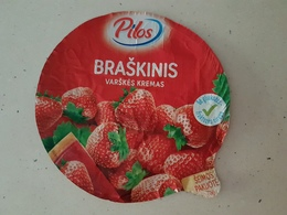 Lithuania Litauen Sour Cream Top - Milk Tops (Milk Lids)