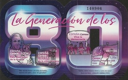 Spain 2018 80s Generation S/s MNH - 1931-Today: 2nd Rep - ... Juan Carlos I