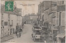 POUZAUGES DEPART DE L'AUTOBUS 1910 TBE - Pouzauges