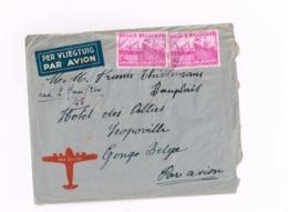 Lettre De Overijse à Léopoldville (Congo Belge) - 1948 Export