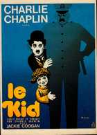 CHARLIE CHAPLIN...LE KID...CPM - Manifesti Su Carta