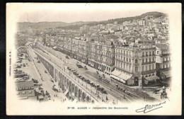 ALGER Perspective Des Boulevards 1902 - Alger