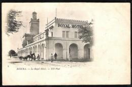 BRISKA Le Royal Hôtel 1901 Avec Timbre Française - Biskra