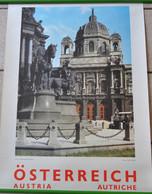 VIEILLE AFFICHE POSTER - AUTRICHE OSTERREICH - WIEN VIENNE KONSTHISTORICHES MUSEUM MUSEE - Afiches