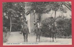 Kamp Van Beverloo - Porte Etendart Des Guides - 1907 ( Verso Zien ) - Leopoldsburg (Camp De Beverloo)