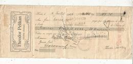 Lettre De Change , Première De Change ,BOHËME ,HAIDA , Théodore PELIKAN , 1909, Timbrée ,3 Scans, Frais Fr :1.65 E - Bills Of Exchange