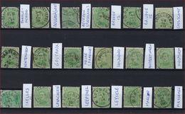 18 Zegels Allen Met Sterstempel / Relais Met ZELDZAME Zoals COOLSKAMP En MASSEMEN ; Staat Zie Scan ! Inzet Aan 10 € ! - 1915-1920 Albert I.