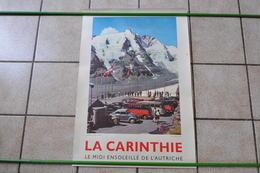 VIEILLE AFFICHE POSTER - AUTRICHE OSTERREICH - CARINTHIE - COCCINELLE COMBI VOLKSWAGEN - Plakate
